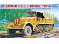 Famo Sd.Kfz.9/18 ton halftrack (Vista 3)