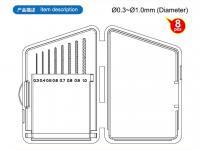 Brocas de 0.3 a 1 mm (Vista 4)
