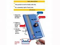 Plantilla de montaje para eslabones (Vista 4)