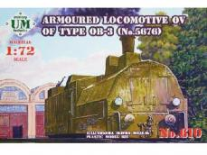 Locomotora Blindada OV para tren tipo OB - Ref.: UMMT-610