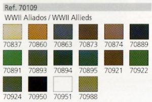 Aliados II Guerra Mundial  (Vista 2)