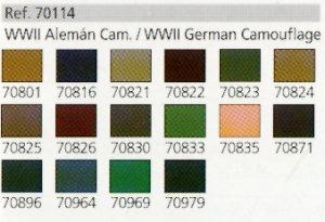 Camuflaje Aleman II Guerra Mundial  (Vista 2)
