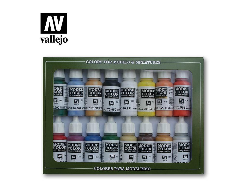 Colores Basicos U.S.A. - Ref.: VALL-70140