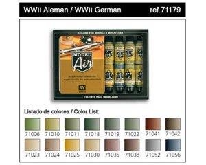 Colores Aliados II Guerra Mundial - Ref.: VALL-71180