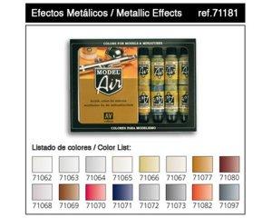 Efectos metalicos - Ref.: VALL-71181