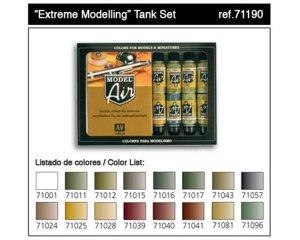 Extreme Modelling Tank Set  (Vista 1)