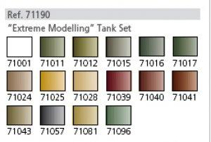 Extreme Modelling Tank Set  (Vista 2)