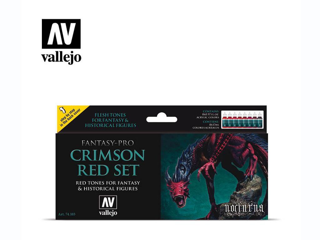Crimson Red Set  (Vista 1)