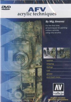 DVD AFV Acrilic Techniques (Subtitulado)  (Vista 1)