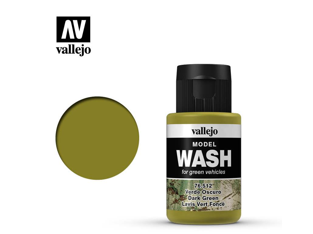 Model Wash Verde Oscuro  (Vista 1)