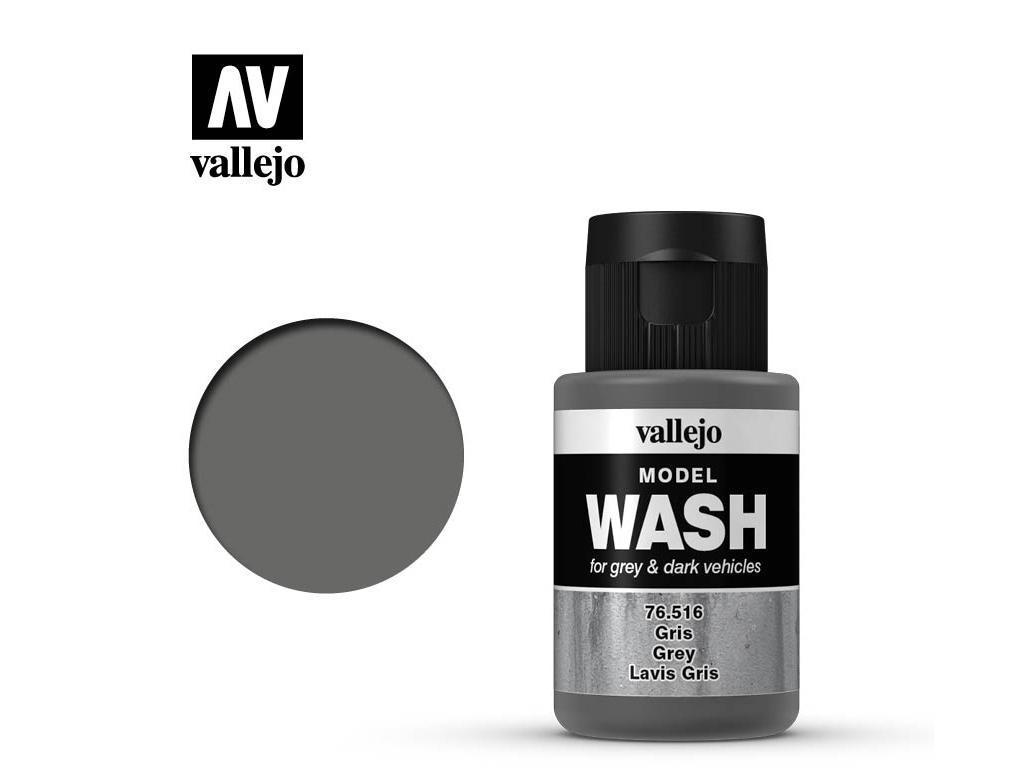 Model Wash Gris Oscuro  (Vista 1)