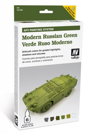 Verde Ruso Moderno - Ref.: VALL-78408