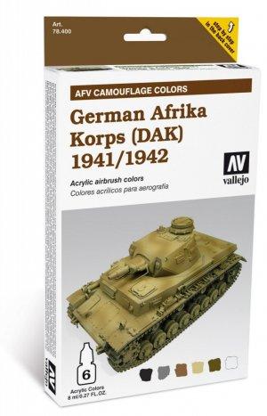 Africa Korps Aleman 1941-1942  (Vista 1)