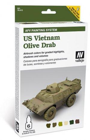US Vietnam Olive Drab  (Vista 1)