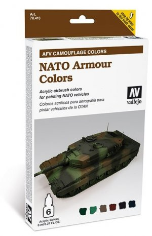 NATO Armour Colors  (Vista 1)