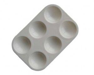 Pocillos de plástico redondo  (Vista 1)