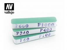 Set de 3 lijas flexibles - Ref.: VALL-04002