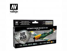 Colores Luftwaffe preguerra hasta 1941 - Ref.: VALL-71165