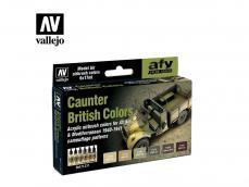 Colores Caunter Británicos - Ref.: VALL-71211
