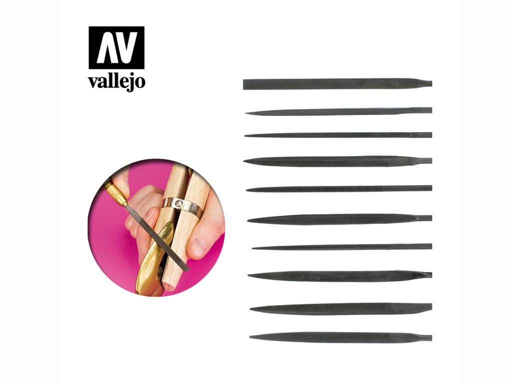 Set 10 limas de aguja (Vista 1)