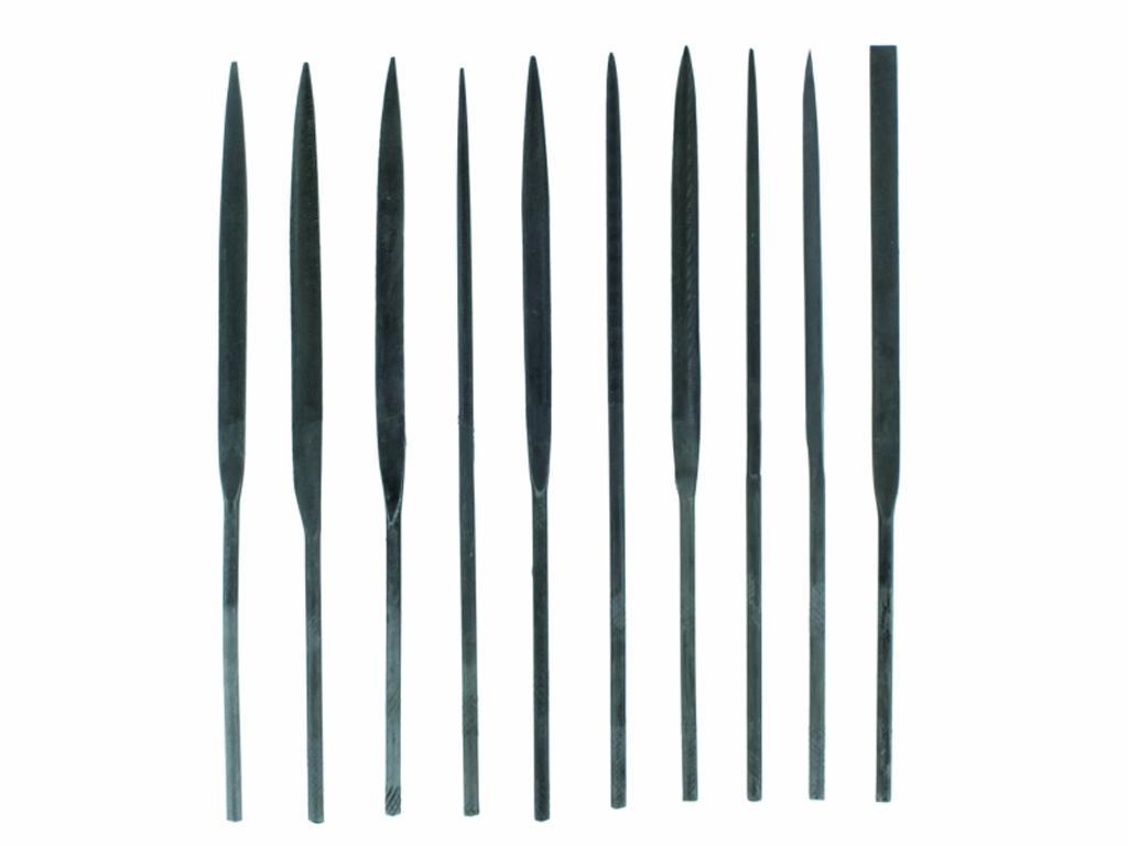 Set 10 limas de aguja (Vista 2)