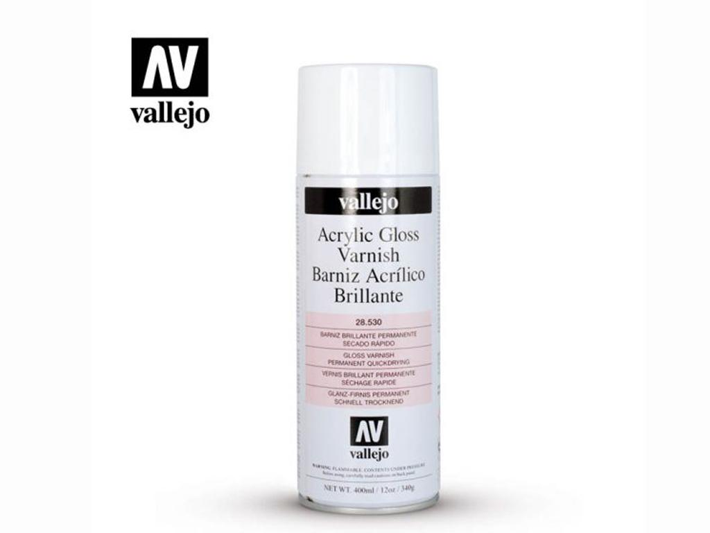 Barniz Acrilico Brillo en Spray (Vista 1)