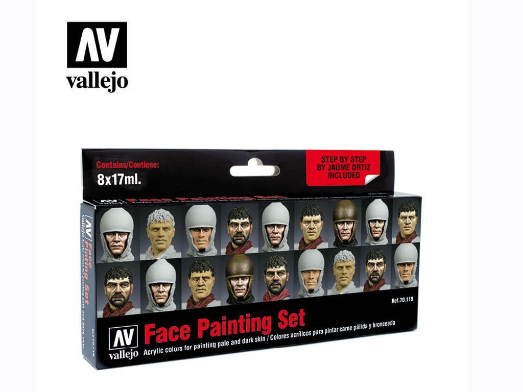 Set de pintura facial Jaume Ortiz (Vista 1)