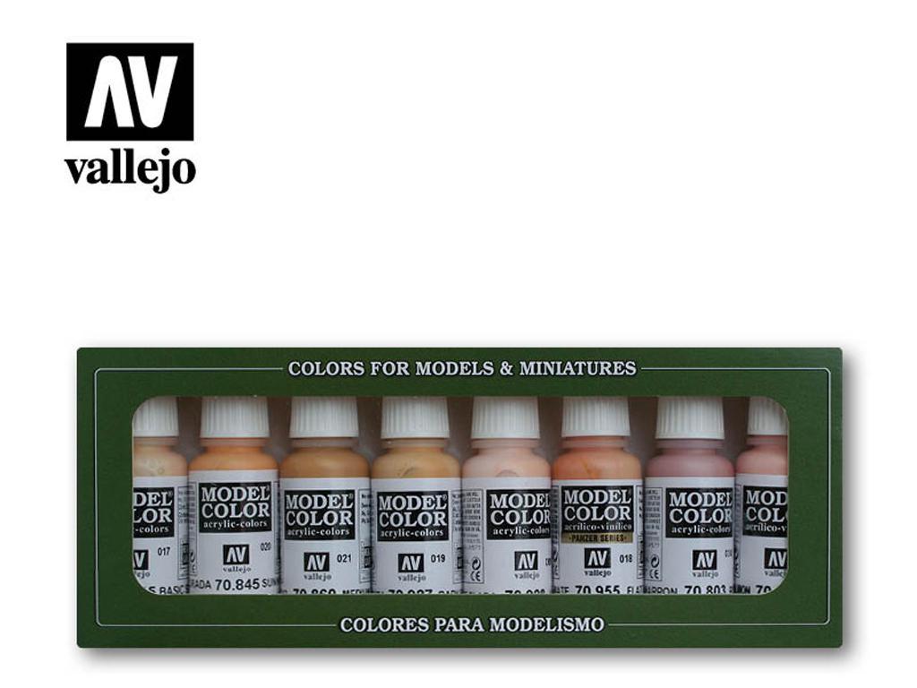 Colores Piel y Cara (Vista 1)
