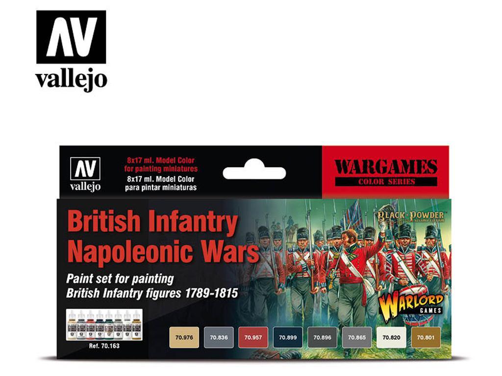 Infantería británica - guerras napoleóni (Vista 1)