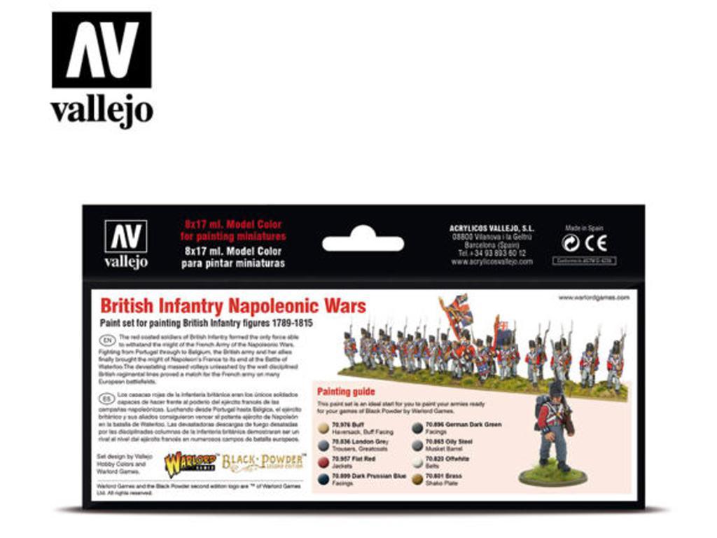 Infantería británica - guerras napoleóni (Vista 2)