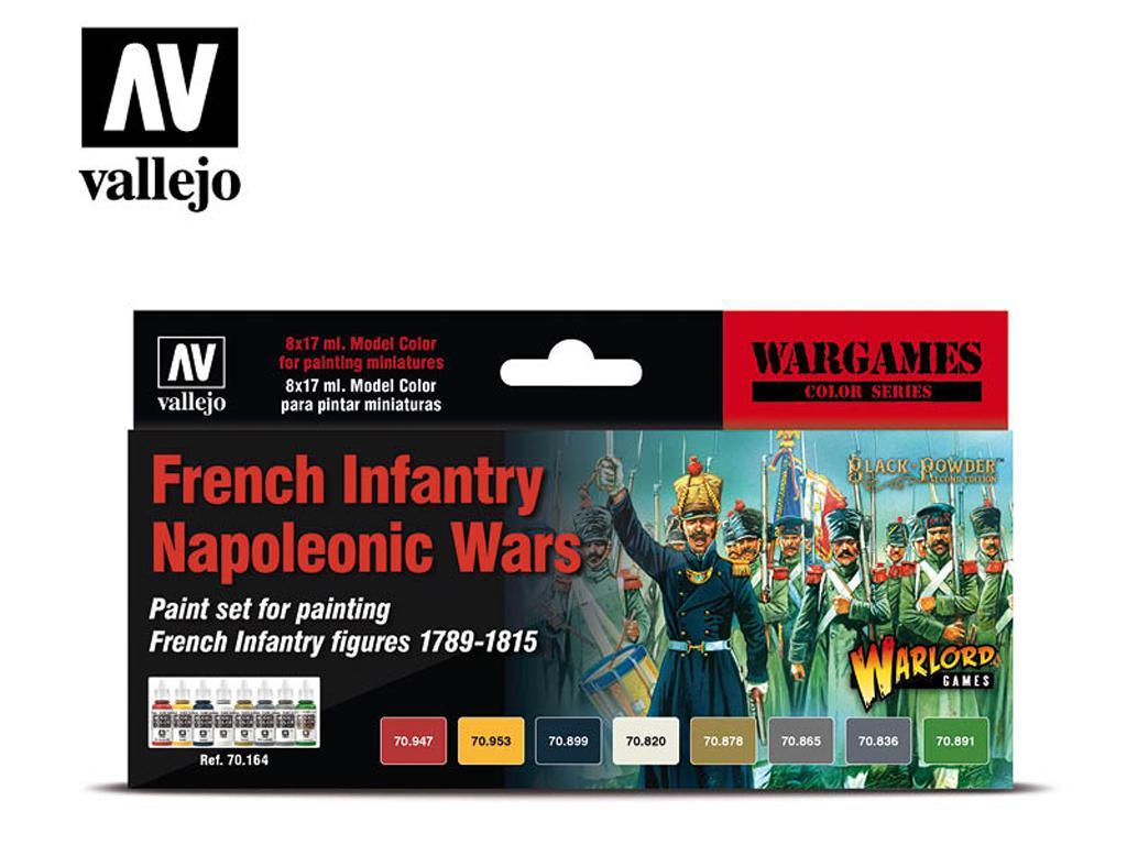 Infantería Francesa - Guerras Napoleónic (Vista 1)