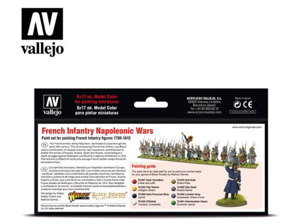 Infantería Francesa - Guerras Napoleónic (Vista 2)