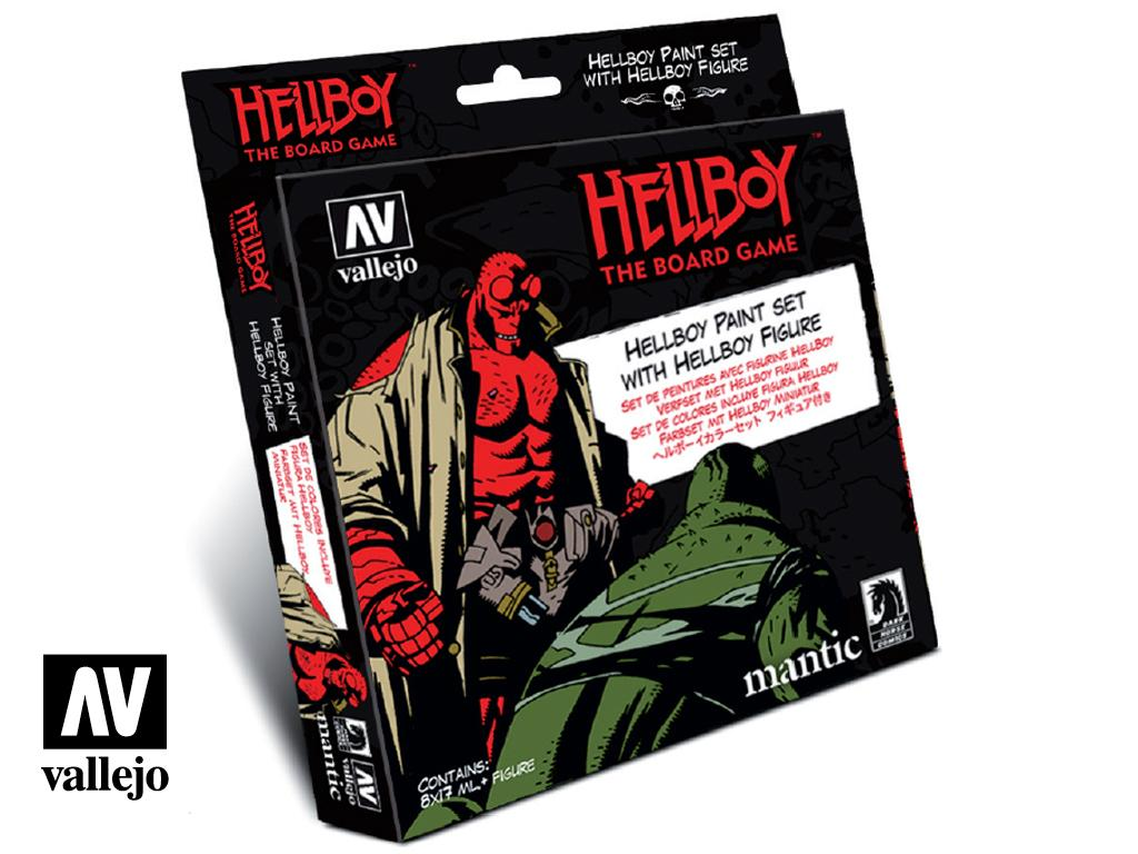 Hellboy Paint Set con figura (Vista 1)