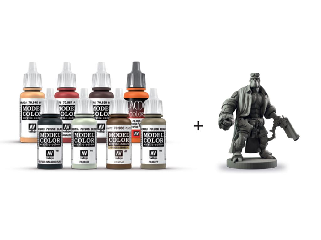 Hellboy Paint Set con figura (Vista 2)