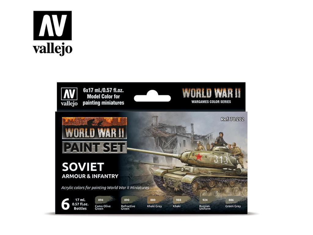 Tanques e Infantería Soviética (Vista 1)