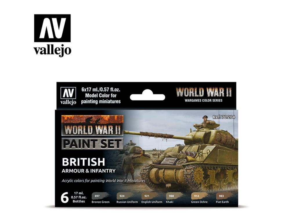 Tanques y Infanteria Britanica (Vista 1)