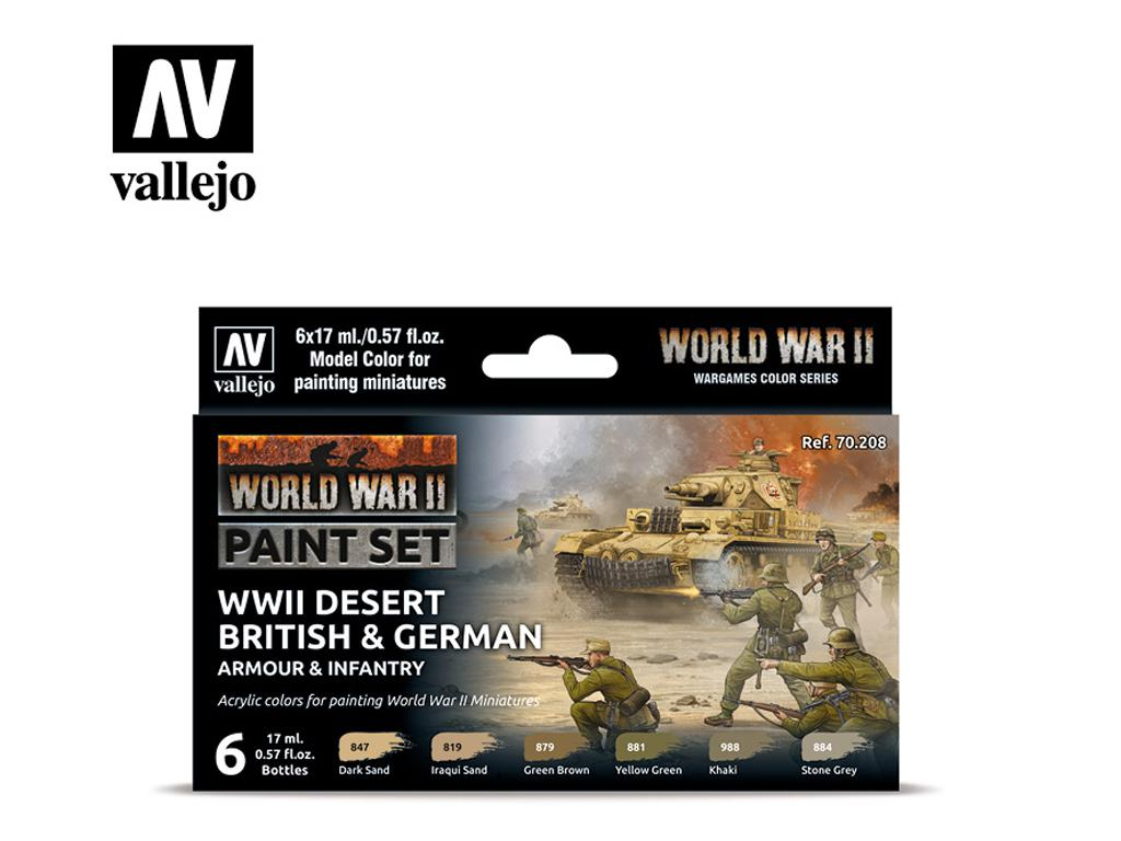 Desert British & German Armour & Infantry (Vista 1)