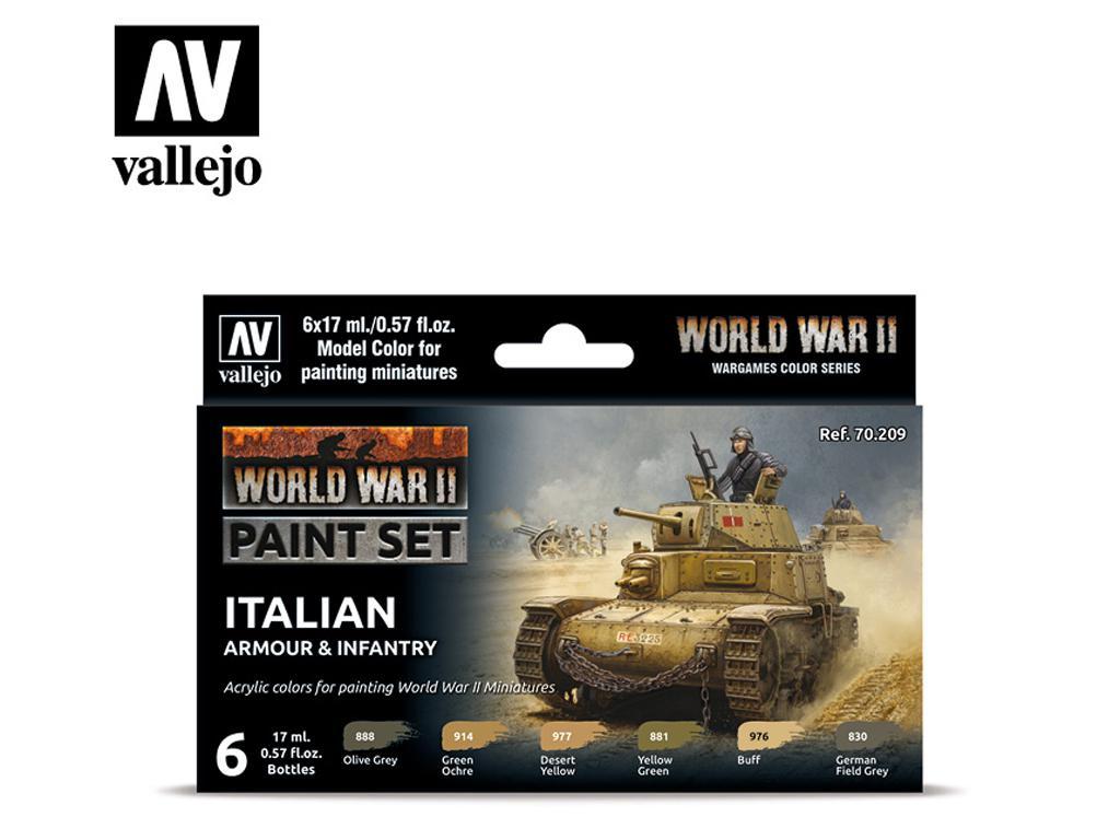 Italian Armour & Infantry (Vista 1)