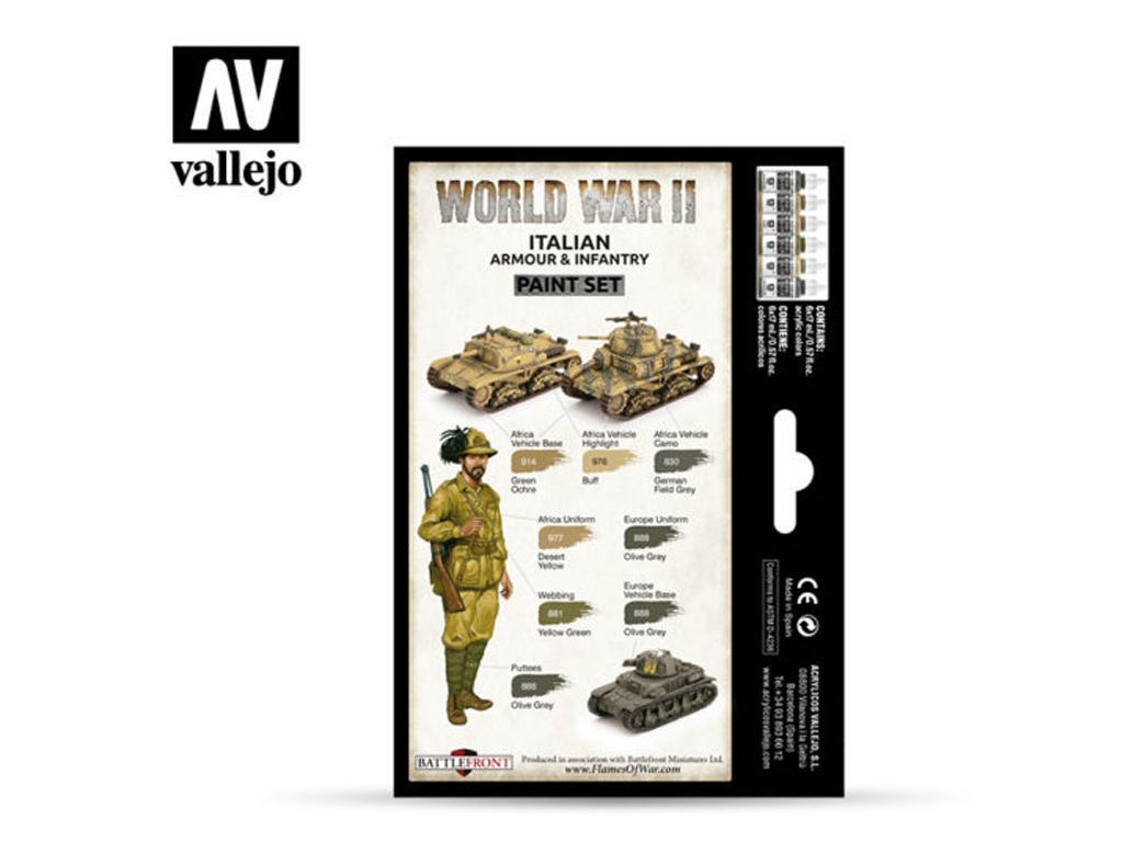 Italian Armour & Infantry (Vista 2)