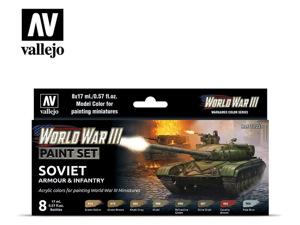 Soviet Armour & Infantry (Vista 1)