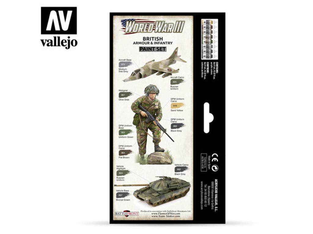 British Armour & Infantry (Vista 2)