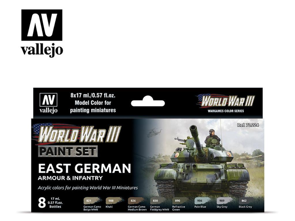 East German Armour & Infantry (Vista 1)