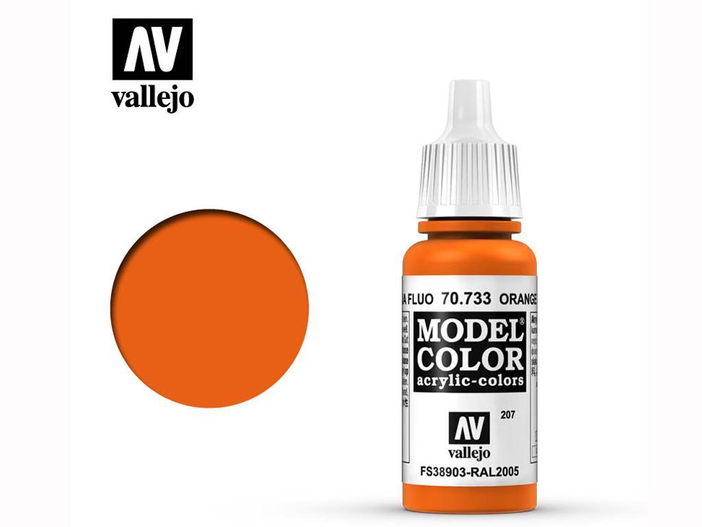 Naranja Fluorescente (Vista 1)