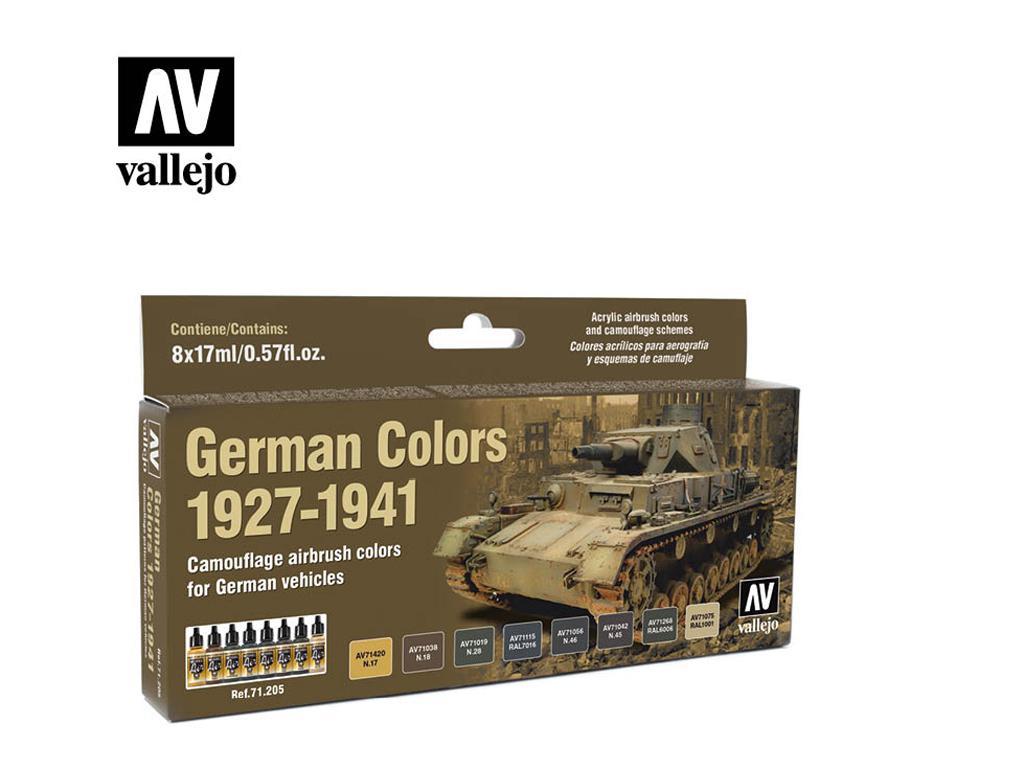Colores Alemanes 1927-1941 (Vista 1)