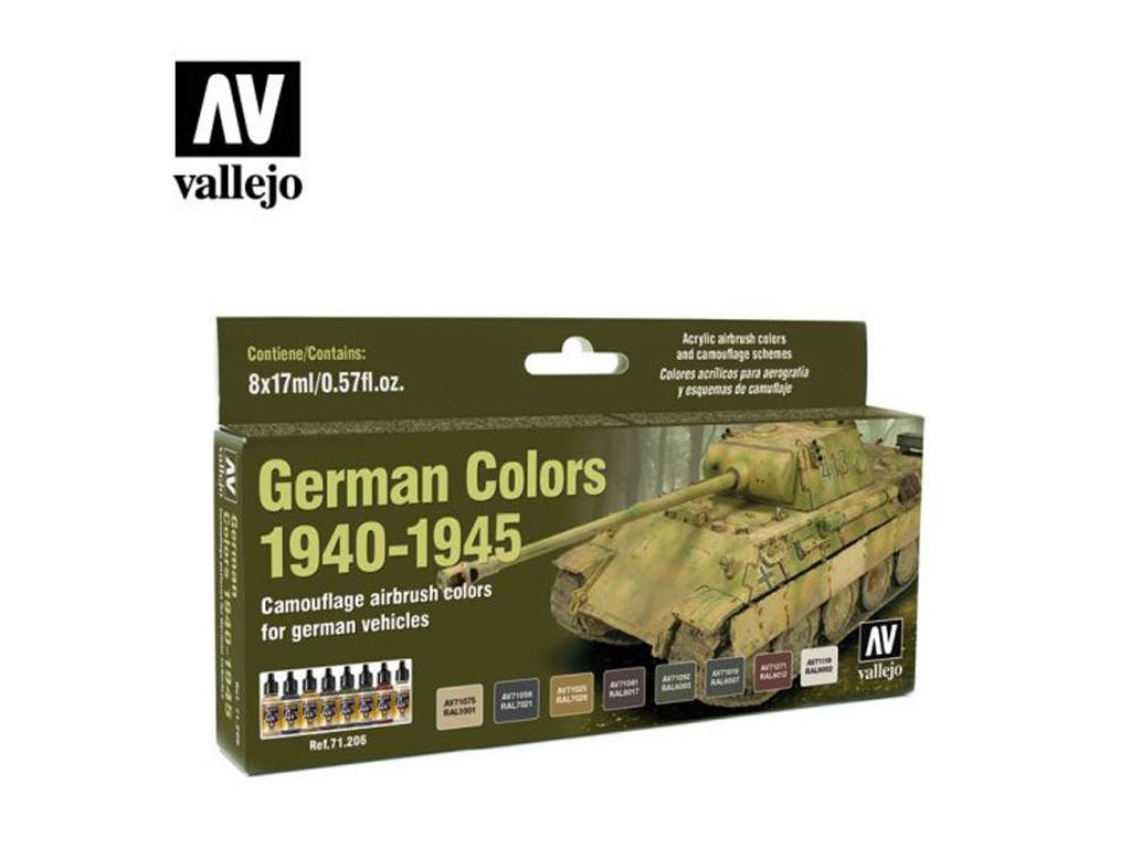 German Colors 1940-1945 (Vista 1)