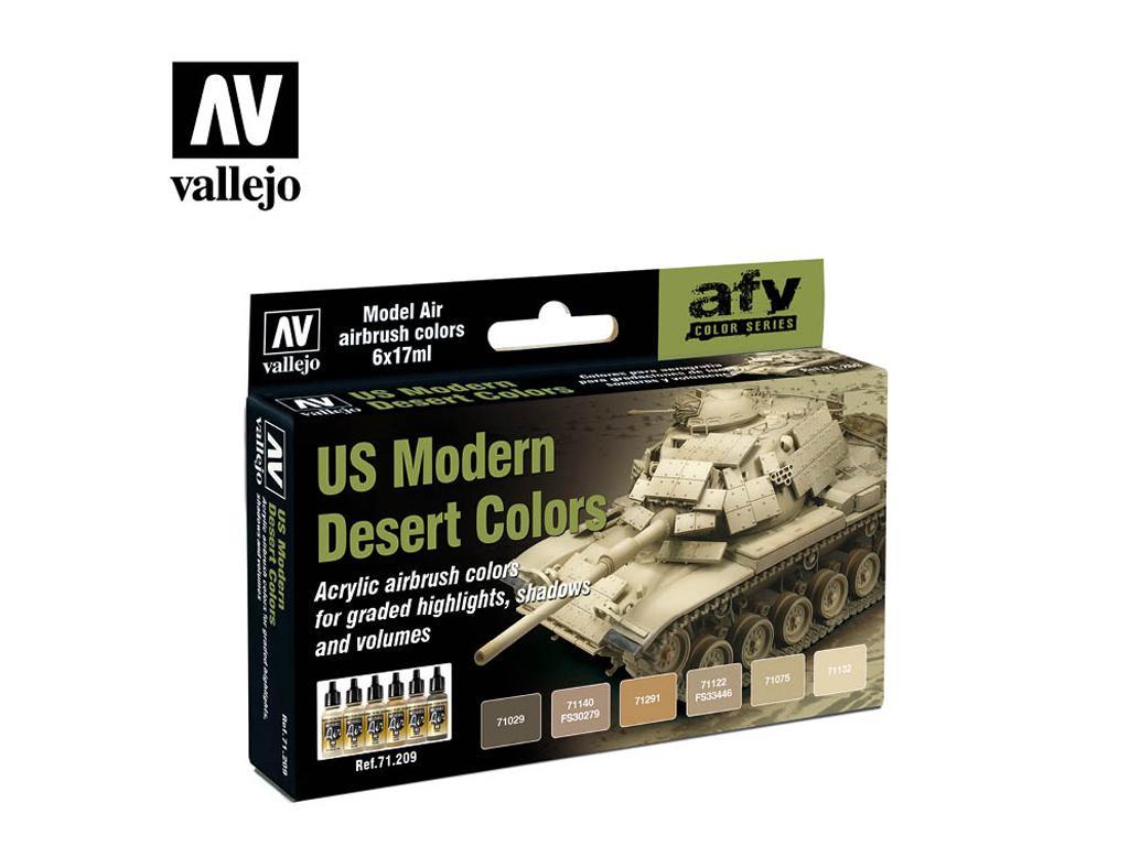 Colores modernos desierto de los EE.UU. (Vista 1)