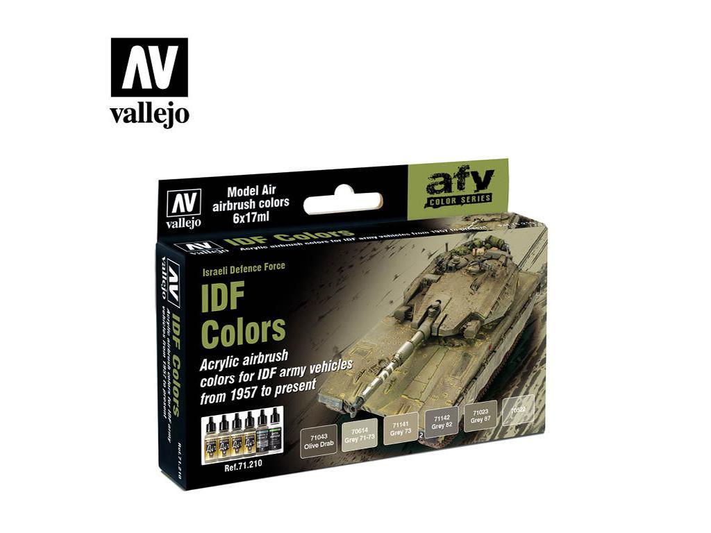 Colores AFV Israelis (Vista 1)