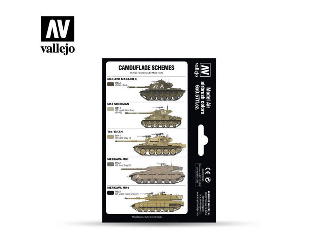 Colores AFV Israelis (Vista 2)