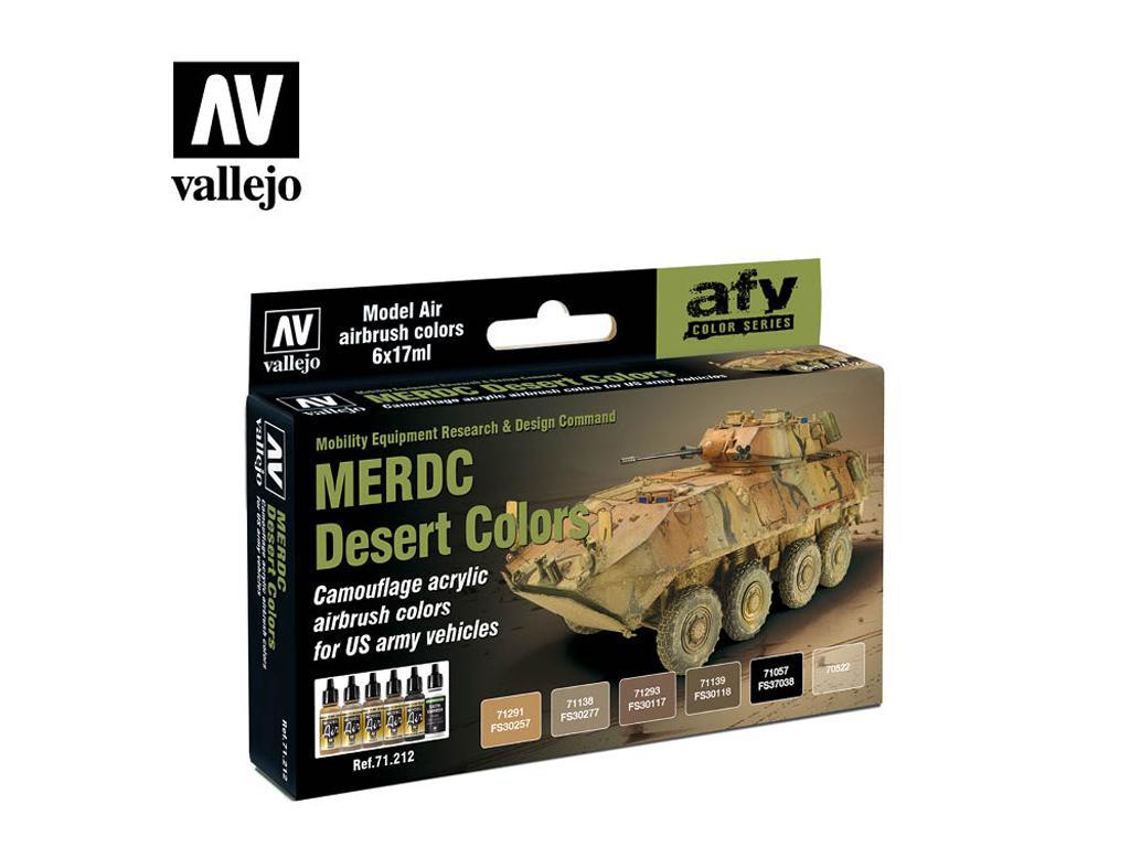 MERDC Colores del desierto (Vista 1)