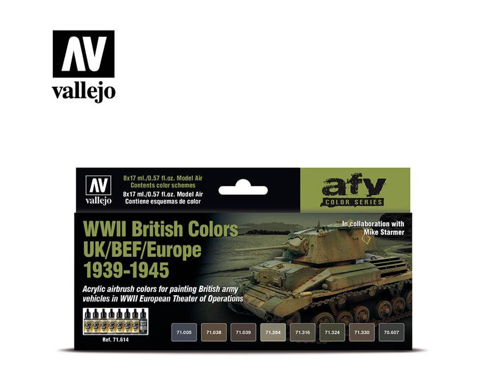 Colores Britanicos UK/BEF/Europe 1939-1945 (Vista 1)